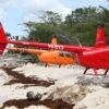 Saona en Helicoptero